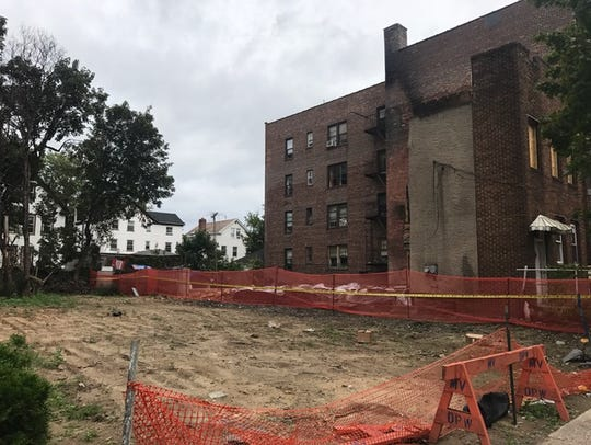 Vacant lot at 213 South Third Ave. in Mount Vernon