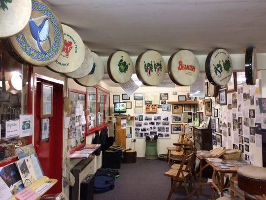 Malachy Kearns' shop.