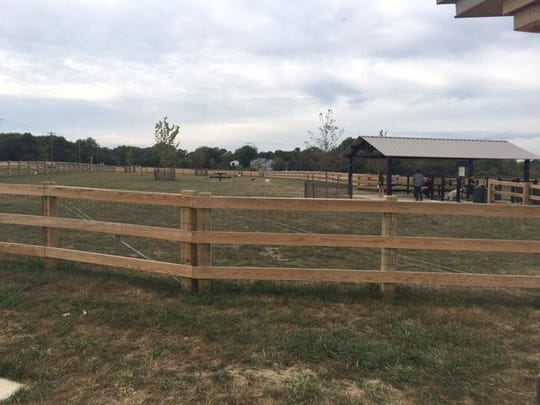 This dog park recently opened in Moorestown. It's located at Swede Run Fields off of Westfield Road.