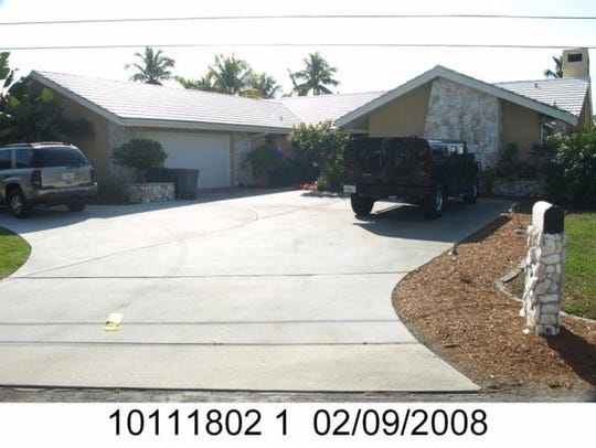This home at 252 Bayshore Dr., Cape Coral, recently