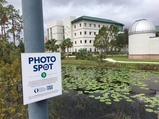 This is the observatory on the FGCU campus, one of the photo walk stops for The News-Press tour on Oct. 26.