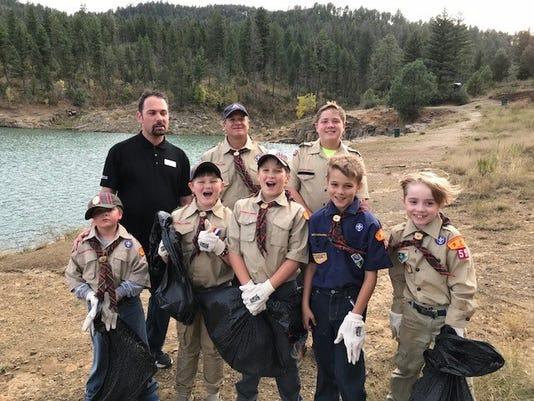 Ruidoso cub scouts