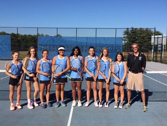 Mahwah girls tennis