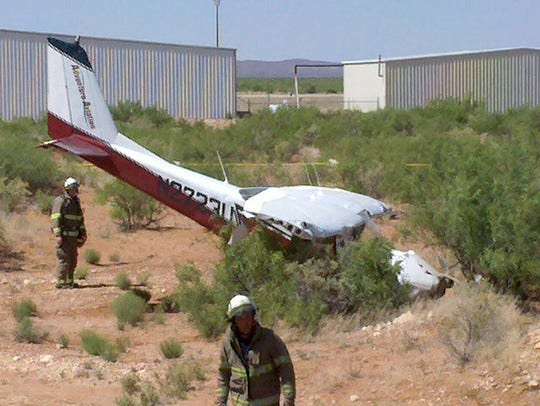 In May 2010, Doug Newton had a close-call, when a single-engine