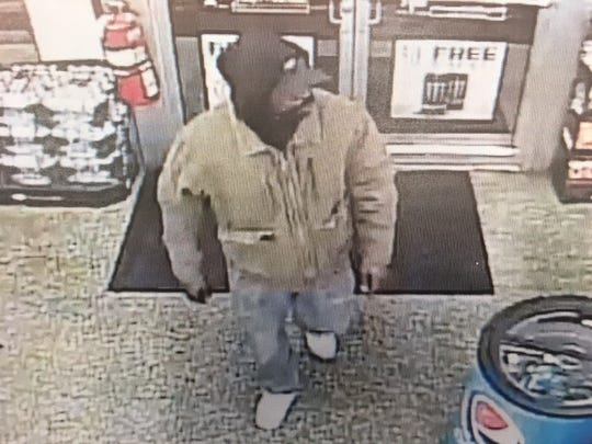 York City Police said this man fatally shot a clerk about 5:45 a.m. Tuesday, Oct. 17, 2017, during a robbery attempt inside the Exxon station store at the corner of West Market Street and Richland Avenue, If you recognize this man, you're asked to call police right away.