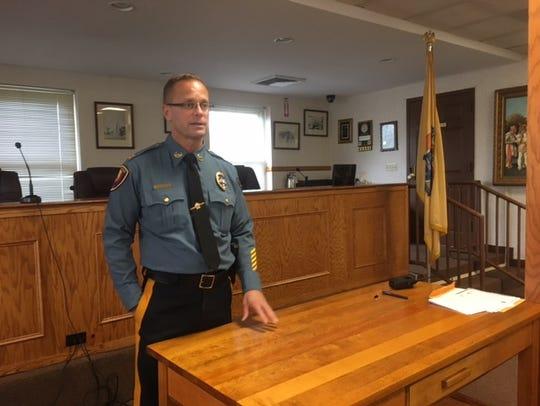 Pequannock Township Police Capt. Christopher DePuyt.