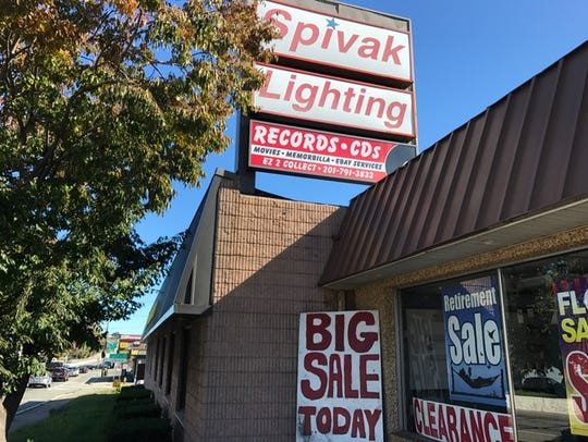 Spivak Lighting was one of the first businesses to