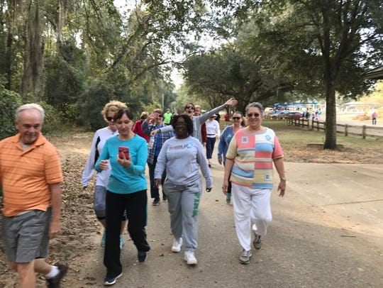 Move walkers will walk the Lake Lafayette Heritage
