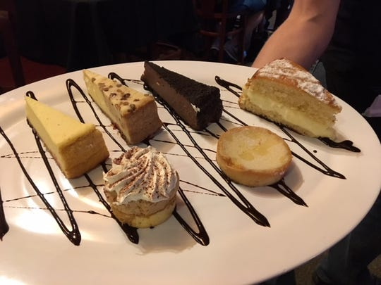 Special desserts bring dinner to an end at Springbrook Italian Bistro &  Tap House.
