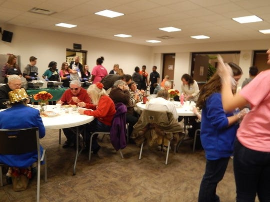 The annual Feast of Love at College Hill Presbyterian