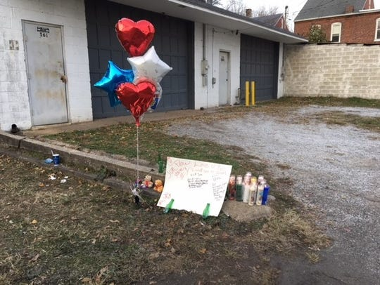 In this file photo, a memorial for Jimmy Avila-Velez, 26, of York, is pictured.