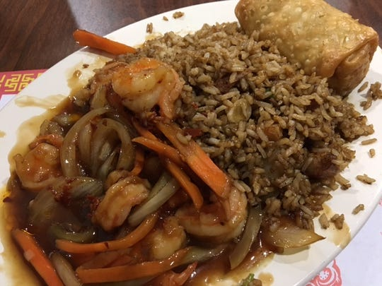 Yin Hai Chinese Restaurant in Marshall just reopened and features flavorful dishes such as Mandarin Garlic Shrimp.
