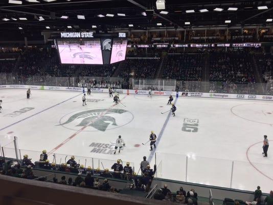 Michigan State-Notre Dame hockey