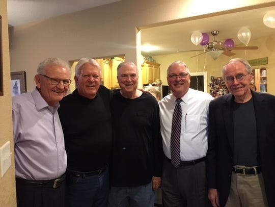 Dr. Paul Piersall celebrates his 75th birthday with