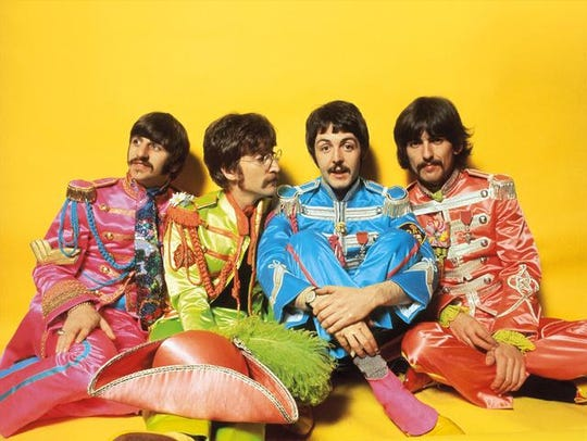 """The Beatles released """"Sgt. Pepper's Lonely Hearts Club"""