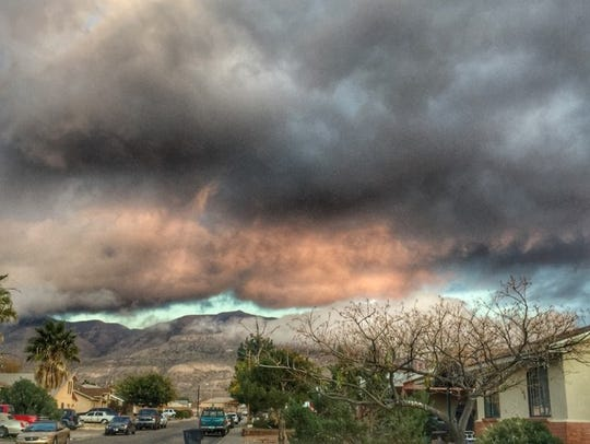 It was mostly cloudy in Alamogordo Thursday and will