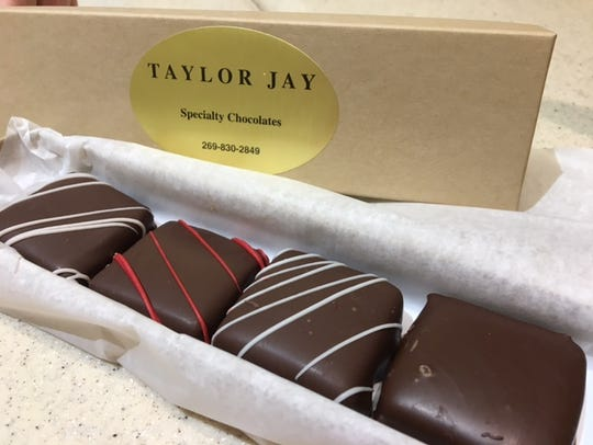Taylor Jay is the featured chocolate maker at Sweets