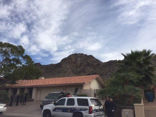 Senior couple found shot dead inside Phoenix home