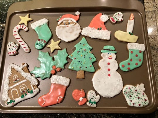 Becky Murphy's traditional Christmas cookies are labor intensive, yet delicious.