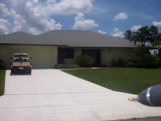 This home at 3735 SE 21st Place, Cape Coral, recently