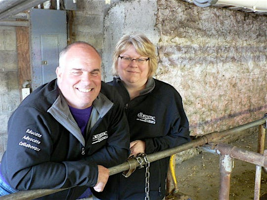 Tony and Fawn Senn had many anxious moments when Grassland Dairy pulled out as their milk processor in 2017. Tony Senn says dairying has to change to align the supply of milk with demand.