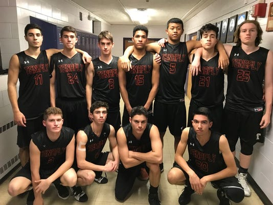 Tenafly boys basketball