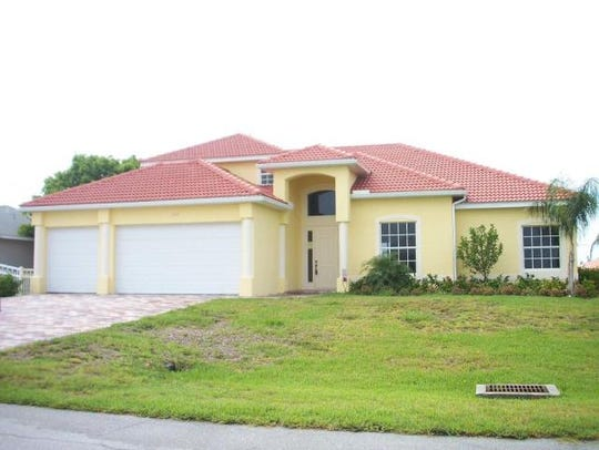 This home at 2710 SW 27th St., Cape Coral, recently