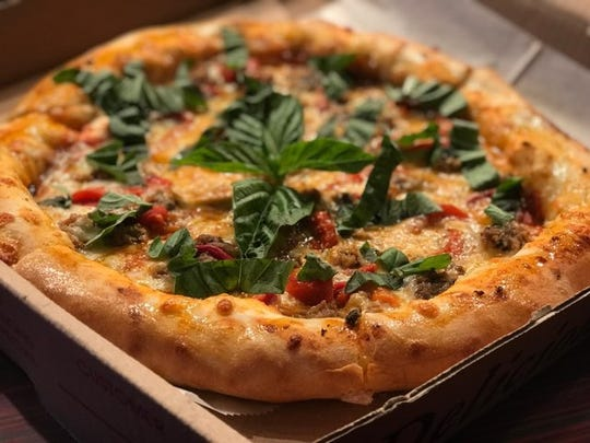 There are many ways to enjoy your pizza at LaScala's
