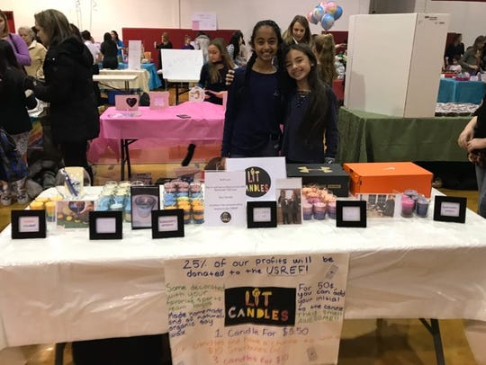 Two middle schoolers from Upper Saddle River, Hansa