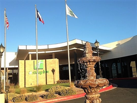 The Holiday Inn West El Paso hotel, at 900 Sunland