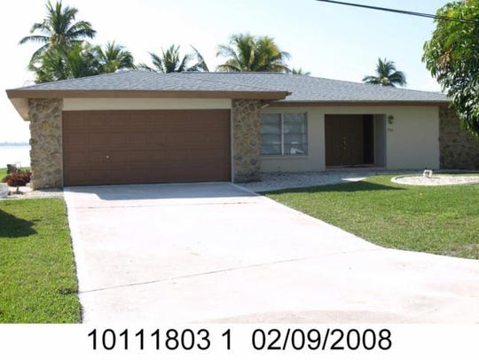 This home at 256 Bayshore Drive, Cape Coral, recently
