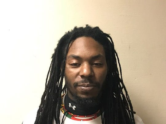 Jason Ulysse, 31, was arrested and charged in connection with a shots fired incident in Salisbury on Saturday, Jan. 13, 2018.