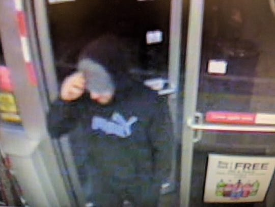 Hanover strong-armed robbery suspect in a business