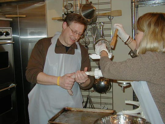 Students hard at work at Classic Thyme Cooking School