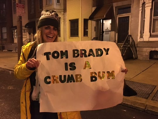 "Jill Walters of Narberth, Pennsylvania, knew the Eagles were ""destined"" to win the Super Bowl"