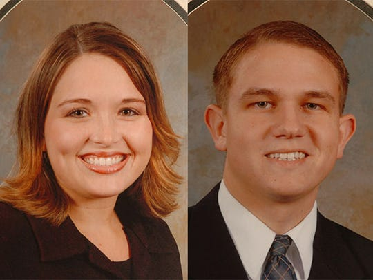 Crown College graduates Darci Brown, 22, and her husband Aaron Brown, 21,died in a fiery automobile wreck in Central Florida June 4, 2004.