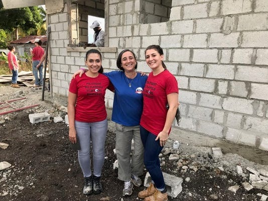 Union County College students in physical therapist assistant program create change in the Dominican Republic.