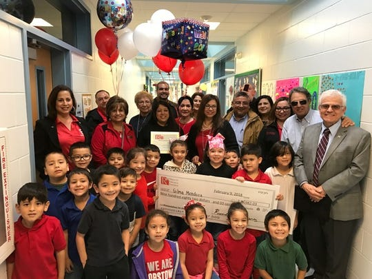 For the first time ever, the Robstown ISD Education Foundation awarded six grants to teachers of Robstown ISD. The foundation distributed about $4,600 during a surprise check presentation Friday.