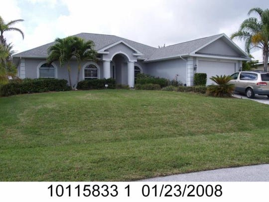 This home at 5310 SW 18th Ave., Cape Coral, recently