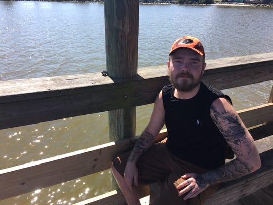 Troy Branham, 22, of Melbourne, used to catch many