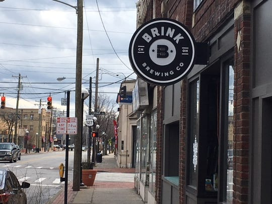 Brink Brewing Co. in the College Hill business district.