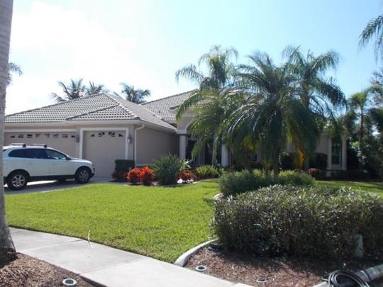 This home at 5614 Merlyn Lane, Cape Coral, recently