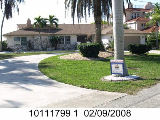 This home at  238 Bayshore Drive, Cape Coral, recently