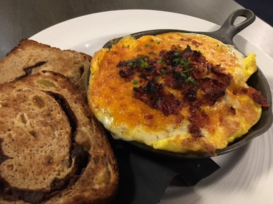 You can get breakfast anytime at Cafe 24/7 at FireKeepers Casino, including the breakfast skillet.