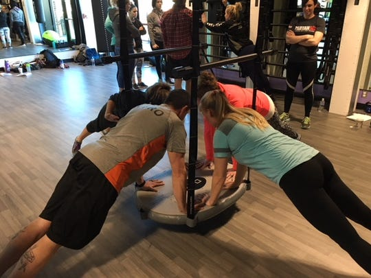 The Queenax can be utilized for small group training, one-on-one personal training, or by yourself.
