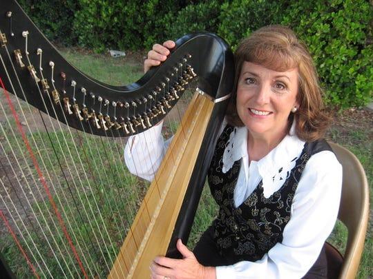 Carla Carpenter, harpist