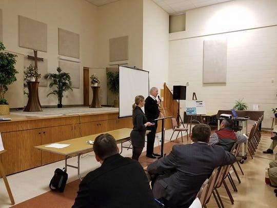 Ocean City Mayor Rick Meehan addresses supporters of