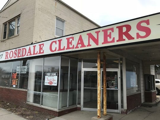 The last garment has been dry cleaned at Rosedale Cleaners