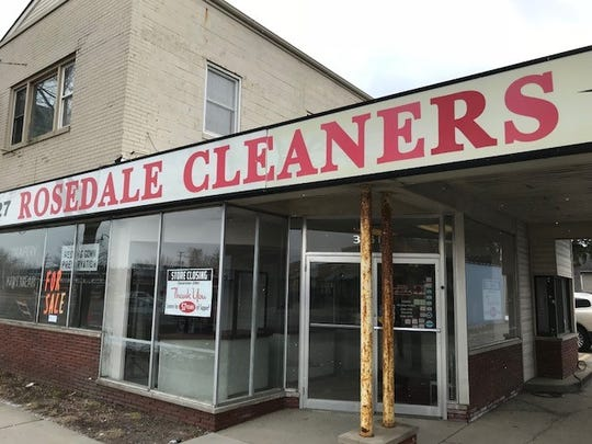 The last garment has been dry cleaned at Rosedale Cleaners in Livonia.