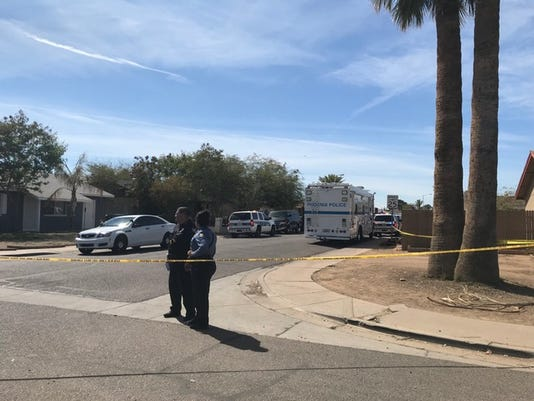 Police-involved shooting in west Phoenix